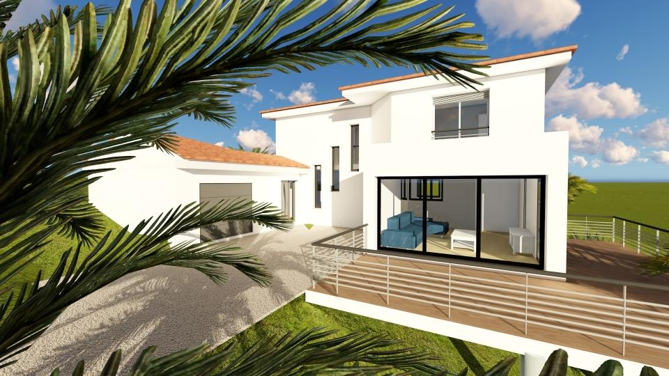 Constructeur Maisons modernes CUERS 83390 / SVC19-4-2 / SUDVILLA ...