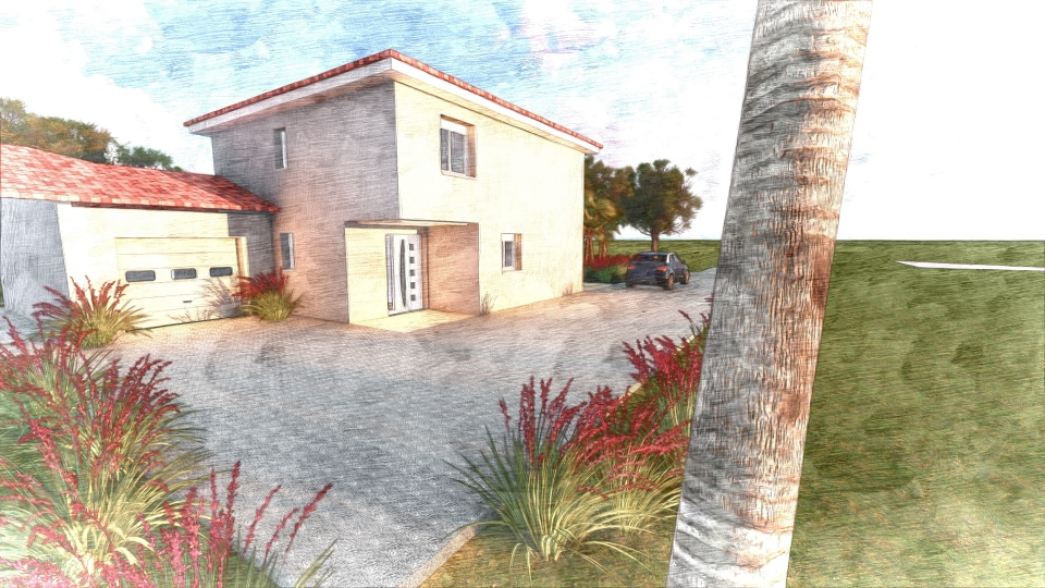 Construction - Maisons traditionnelles - HYERES