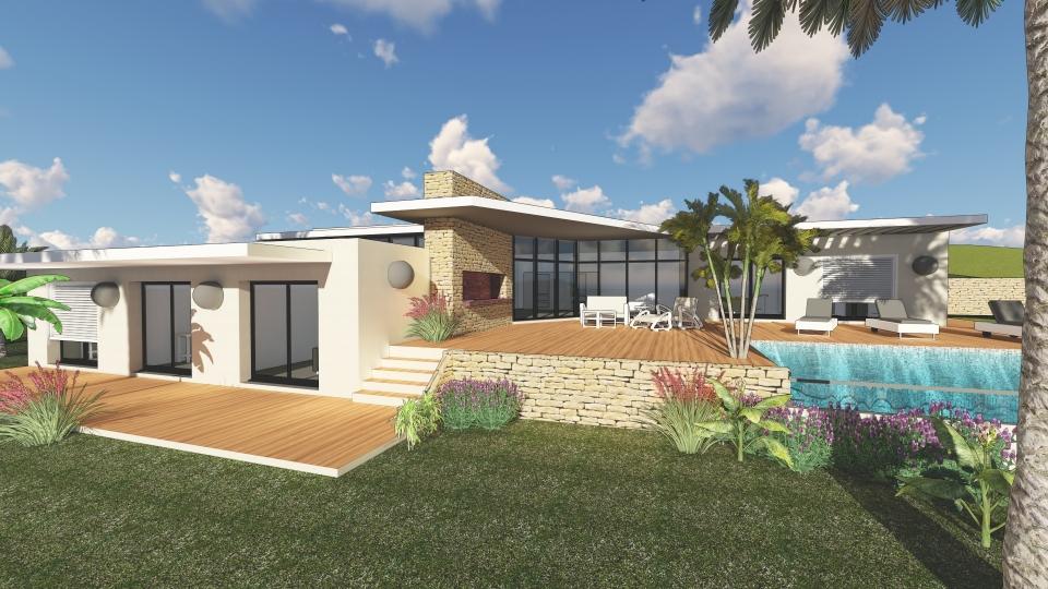 Constructeur Maisons modernes HYERES 83400 / SVC19-4-9 / SUDVILLA ...